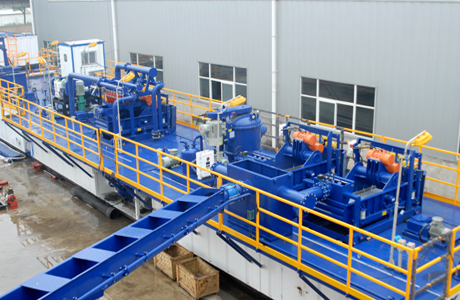 Skid-mounted Solids Control System