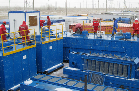Arctic Solids Control System